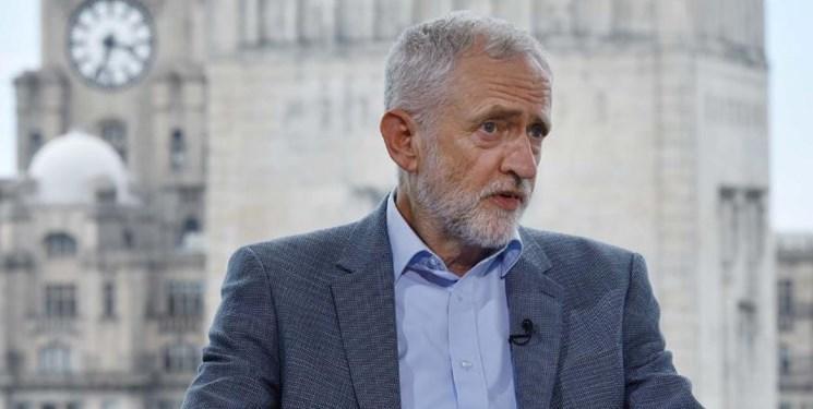 کوربین: نخست وزیر انگلیس را مردم انتخاب می نمایند نه ترامپ
