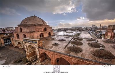 انجام مطالعات باستان شناسی در مسجد جامع ارومیه