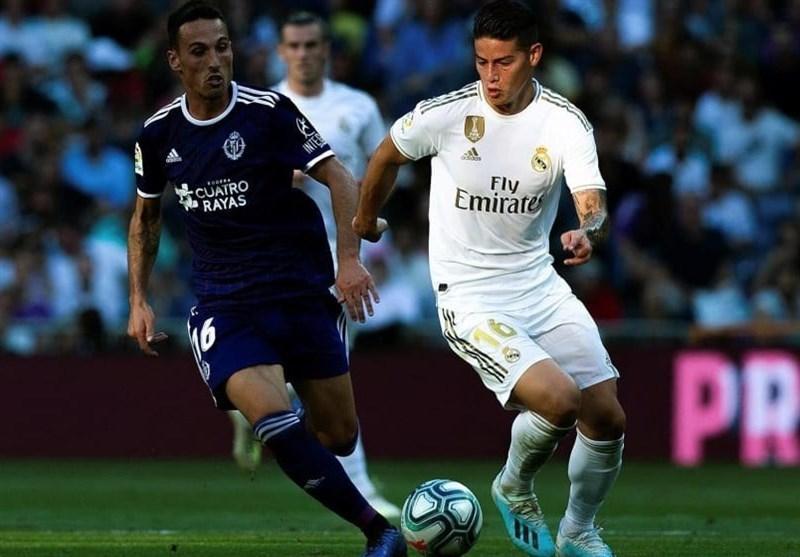 توقف رئال مادرید در اولین بازی خانگی اش در فصل جاری