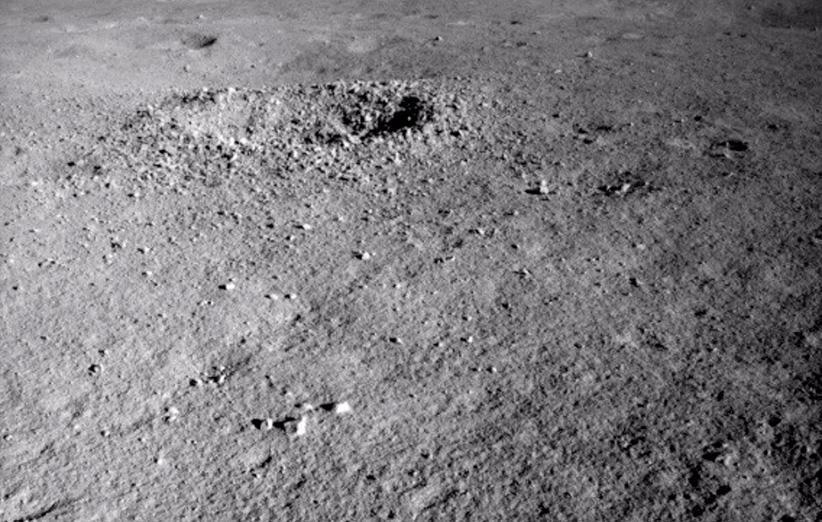 ماه نورد چانگ ای 4 مورد عجیبی را در نیمه پنهان ماه مشاهده کرد