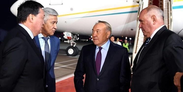 نظربایف به مسکو رفت؛ رایزنی با پوتین در خصوص مسائل منطقه