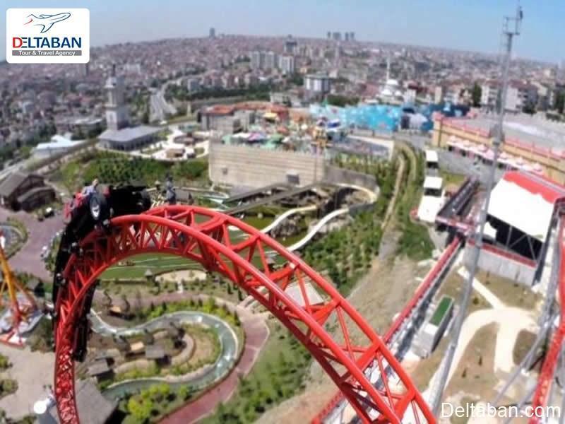 تفریح و شادی در شهر بازی ویالند استانبول