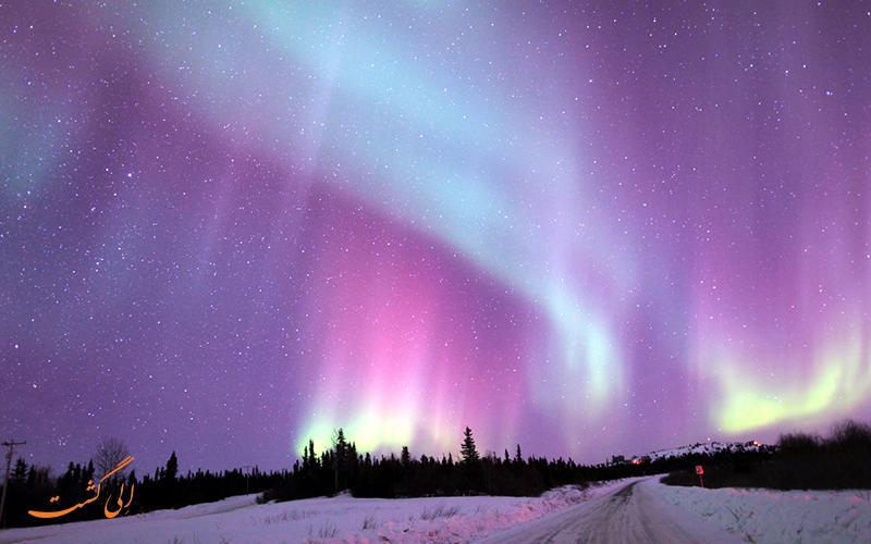 تماشای شفق قطبی در روسیه، تصویری که هرگز فراموش نخواهید کرد!