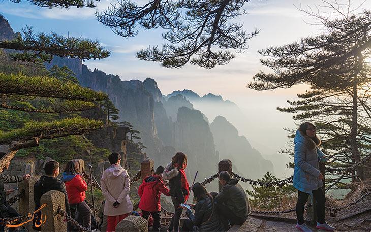 کوه هوآنگ شان ، سیاه، مرموز و واقعی!