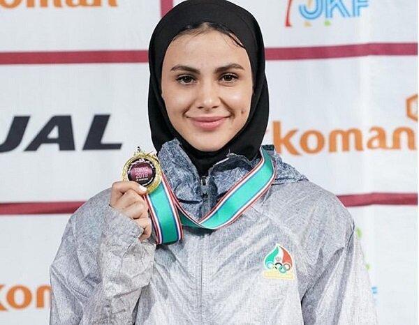 سارا بهمنیار به مدال طلا دست پیدا کرد