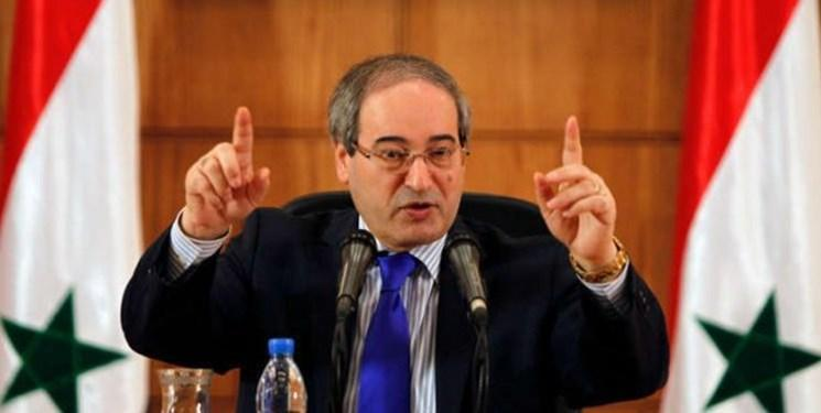 فیصل مقداد: اگر ارتش سوریه در مناطق کردنشین بود، ترکیه نمی توانست حمله کند