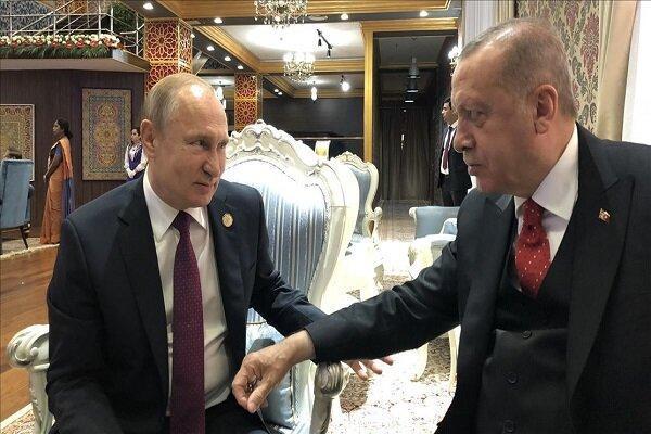اردوغان و پوتین درباره عقب نشینی مرحله ای کُردها مذاکره می نمایند