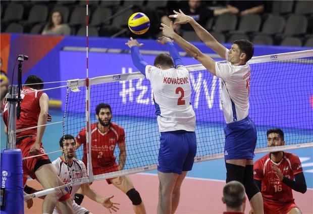 موقعیت تیم ها در جدول رده بندی، فرانسه در صدر، ایران یازدهم