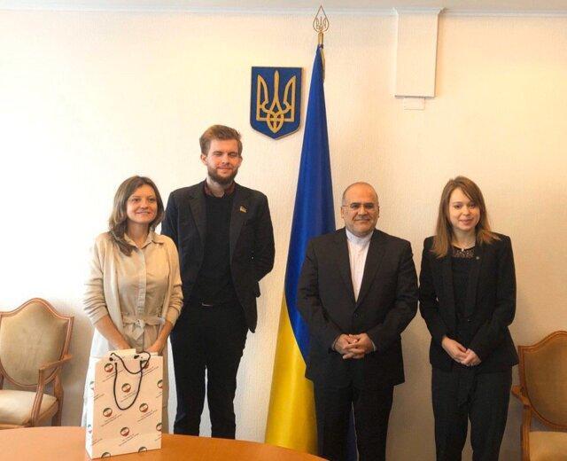 ملاقات سفیرایران با اعضای کمیته سیاست خارجی مجلس اوکراین