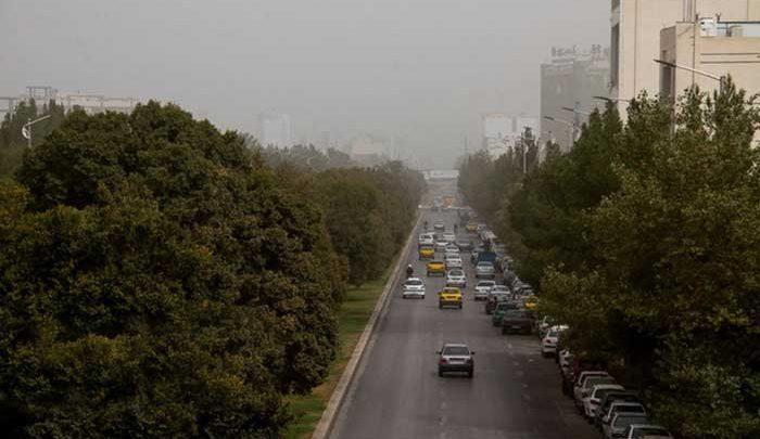 تداوم وضعیت نامطلوب هوای تهران