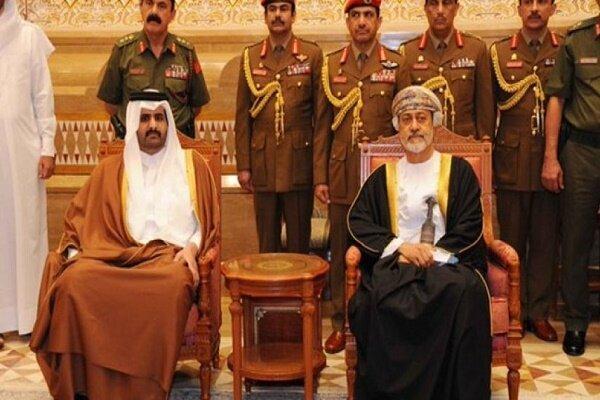 معاون امیر قطر با سلطان جدید عمان ملاقات کرد