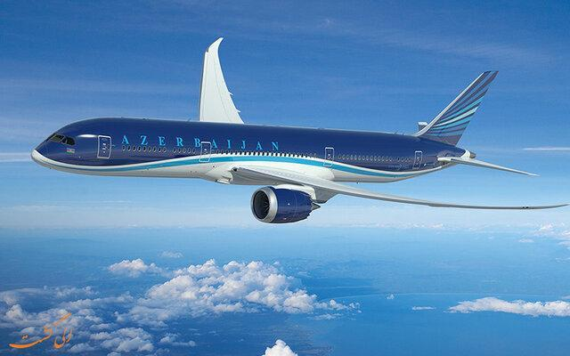 خط هوایی باکو-مشهد افتتاح شد