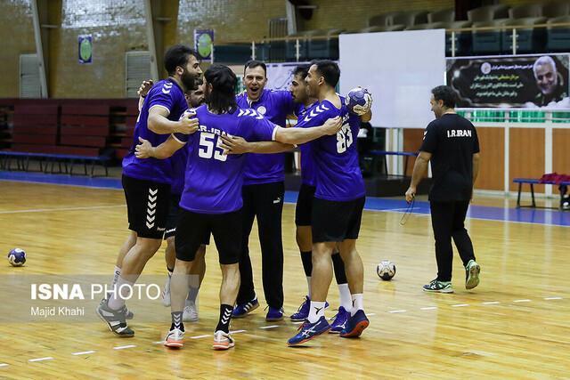 پیروزی مردان هندبال ایران در گام نخست قهرمانی آسیا