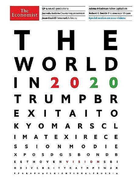 پیش بینی اکونومیست از دنیا در سال 2020، اقتصادایران، آمریکا، سوریه و...به کجا خواهد رفت؟