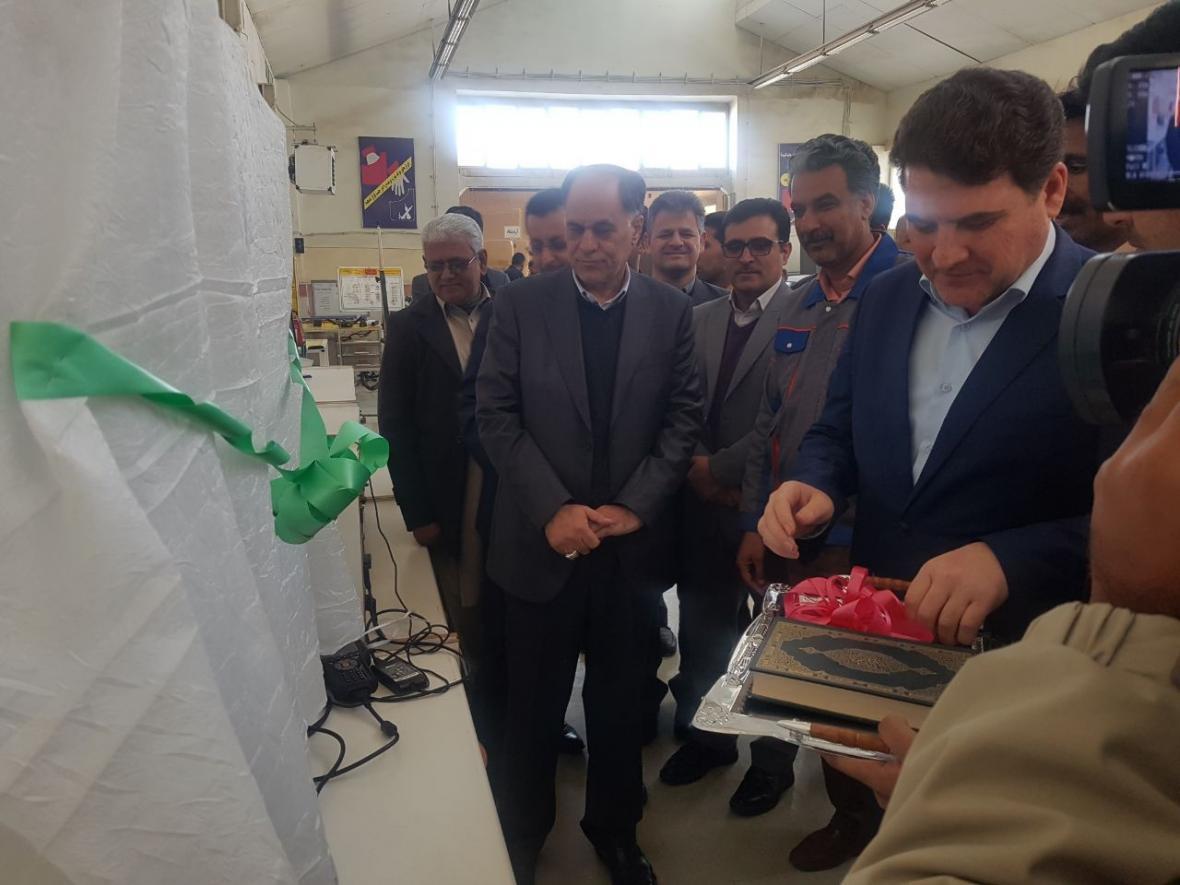افتتاح ماکت شبیه سازسنسور ها و عملگر های سیستم انژکتورخودرو در زاهدان