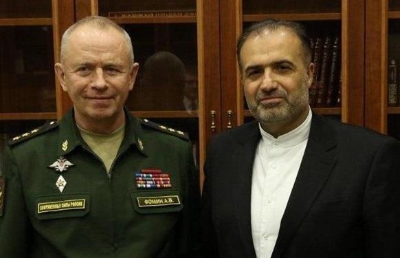 ملاقات سفیر ایران با معاون وزیر دفاع روسیه