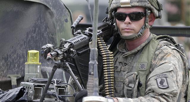 درگیری جدید نظامیان روسی و آمریکایی ، برخورد خودروهای نظامی دو کشور