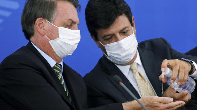 برکناری وزیر بهداشت برزیل به روز رسانی آخرین شرایط ابتلا به کرونا در دنیا