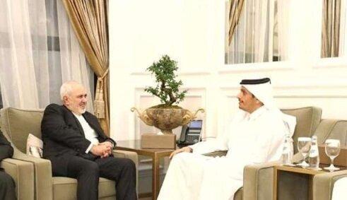 ظریف به وزیر خارجه قطر چه گفت؟