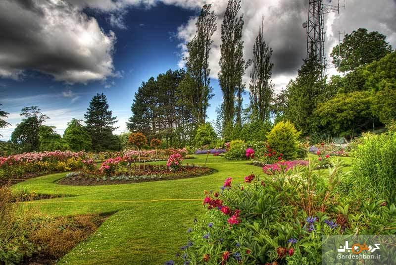 پارک ملکه الیزابت یکی از زیباترین پارک های ونکوور، تصاویر