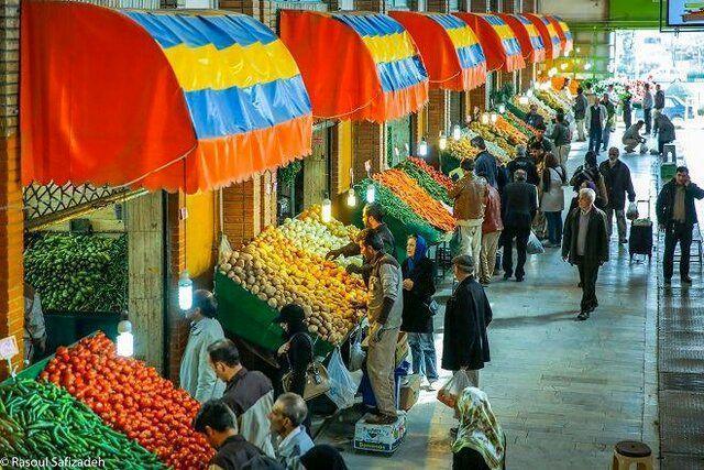 جدیدترین قیمت محصولات میادین میوه و تره بار