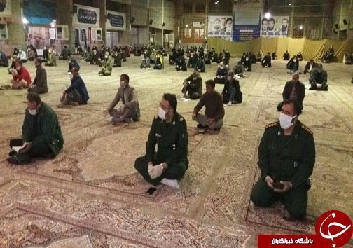 نجوای بک یاالله شب زنده داران مازندرانی با رعایت پروتکل های بهداشتی