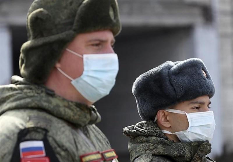 ابتلای بیش از 1600 نظامی روس به کرونا