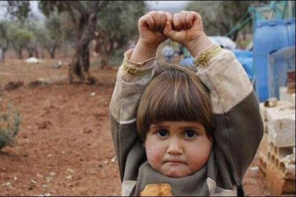 وحشت دختر سوری در عکس های تکان دهنده