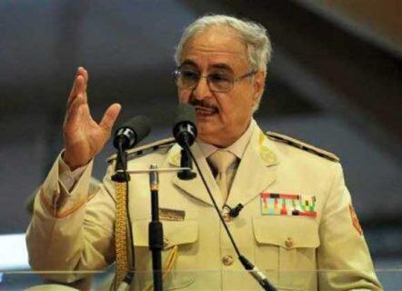 حفتر: لیبی با مثلث شر تروریسم، خائنان و ترکیه روبه رو است