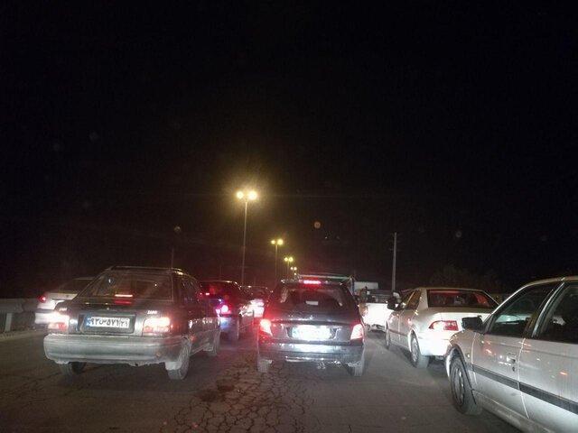توضیح پلیس درباره علت ترافیک نیمه سنگین آزادراه کرج - قزوین