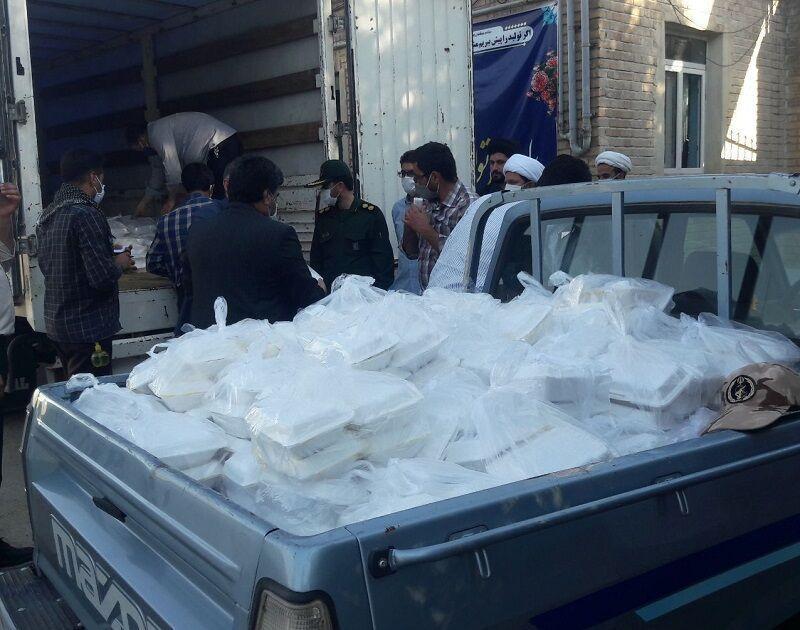 خبرنگاران توزیع یک میلیون پرس غذا میان نیازمندان خراسان رضوی