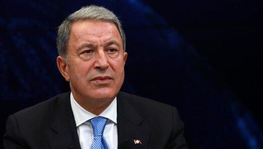 پیشنهاد وزیر دفاع ترکیه درباره جنگ قره باغ: ارمنستان باید عقب بکشد