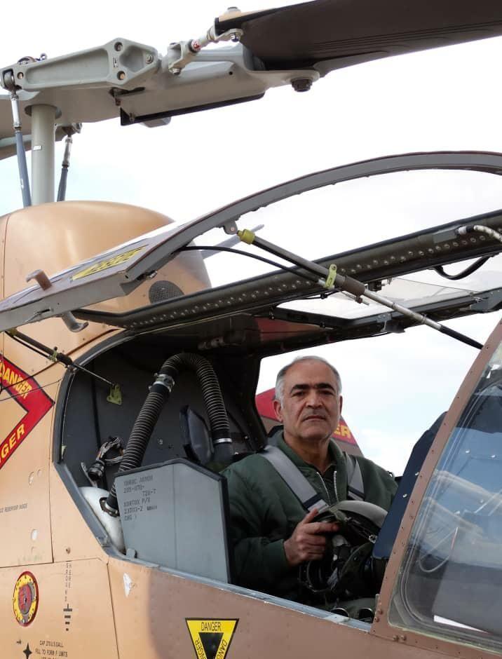 خبرنگاران طلایه دار پرواز عملیاتی و آموزشی با بالگرد کبرا به دیار باقی شتافت