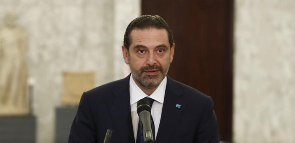 خبرنگاران سعد الحریری بر تشکیل دولت غیرحزبی در لبنان تاکید نمود