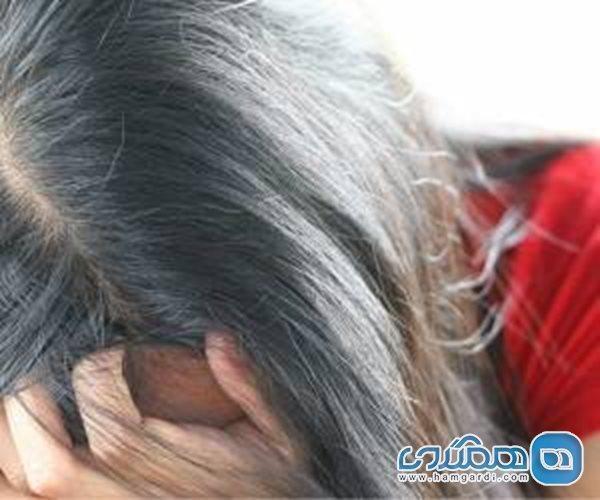 سفید شدن مو قبل 40 سالگی علل جدی دارد