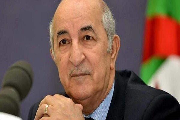 اظهار نظر رئیس جمهور الجزایر پس از ابتلا به کرونا