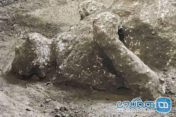 اعلام کشف بقایای تقریبا سالم دو مرد در پمپئی