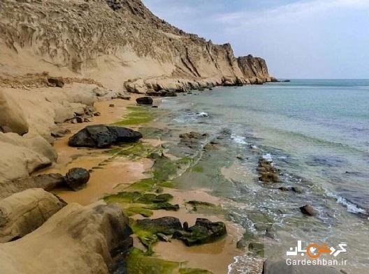 ساحل مکسر ؛ عجیب ترین ساحل ایران