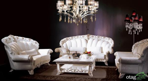 مدل های جدید مبلمان کلاسیک ایتالیایی برای خانه های لوکس
