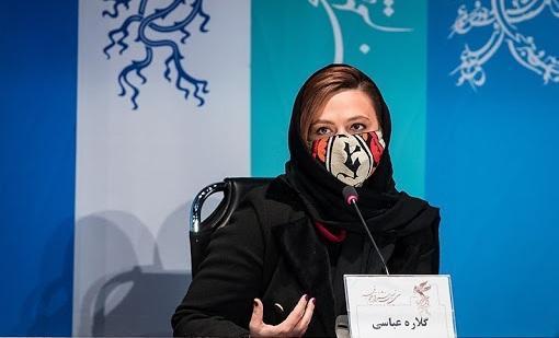 ویدئو، افشاگری گلاره عباسی برای اضافه وزن زیاد در فیلم ابلق