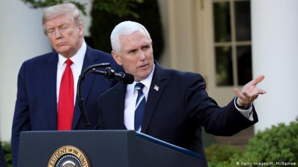 لایحه اصلاح انتخابات آمریکا در راه مجلس سنا ، تکرار ادعای تقلب در انتخابات از سوی مایک پنس خبرنگاران