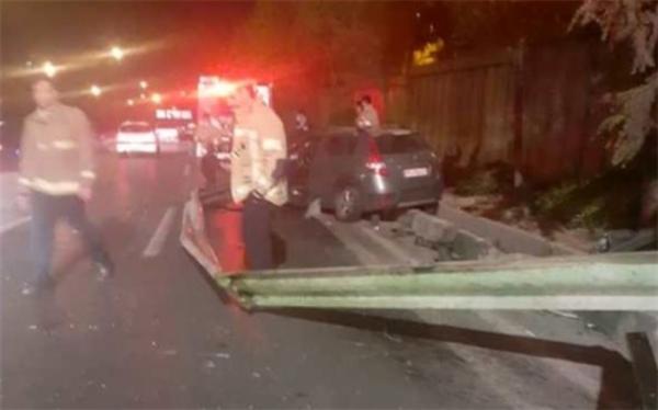 جزئیات تصادف شدید سواری در اتوبان امام علی (ع)