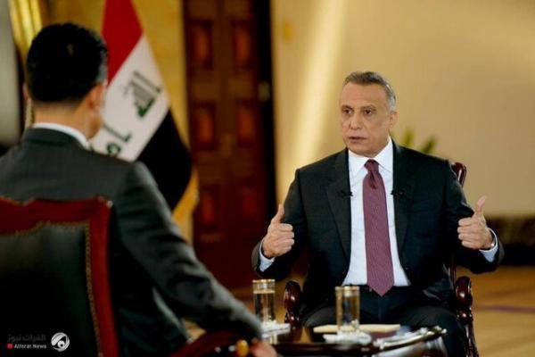 الکاظمی: روابط بسیار خوبی با ابراهیم رئیسی داریم، در زمان مناسب به تهران سفر می کنم