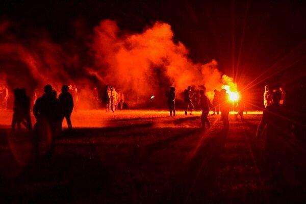 7 زخمی در پی درگیری پلیس و معترضین در فرانسه
