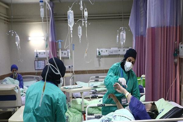 آمار وحشتناک مراجعه زنان باردار مبتلا به کرونا ، ازدحام بیماران در بیمارستان رازی اهواز