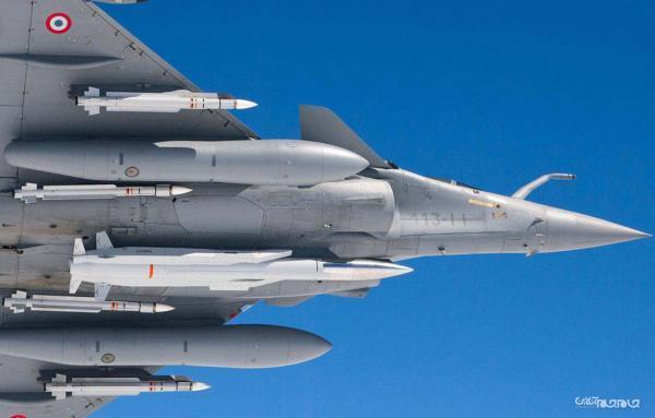 کوشش هند برای نصب موشک تازه بر روی جنگنده رافال