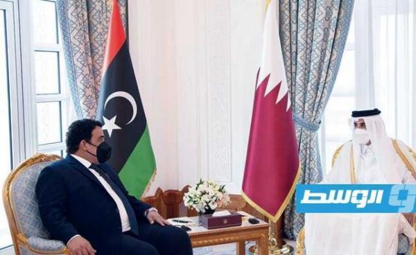 تور قطر ارزان: تاکید امیر قطر بر حمایت دوحه از لیبی
